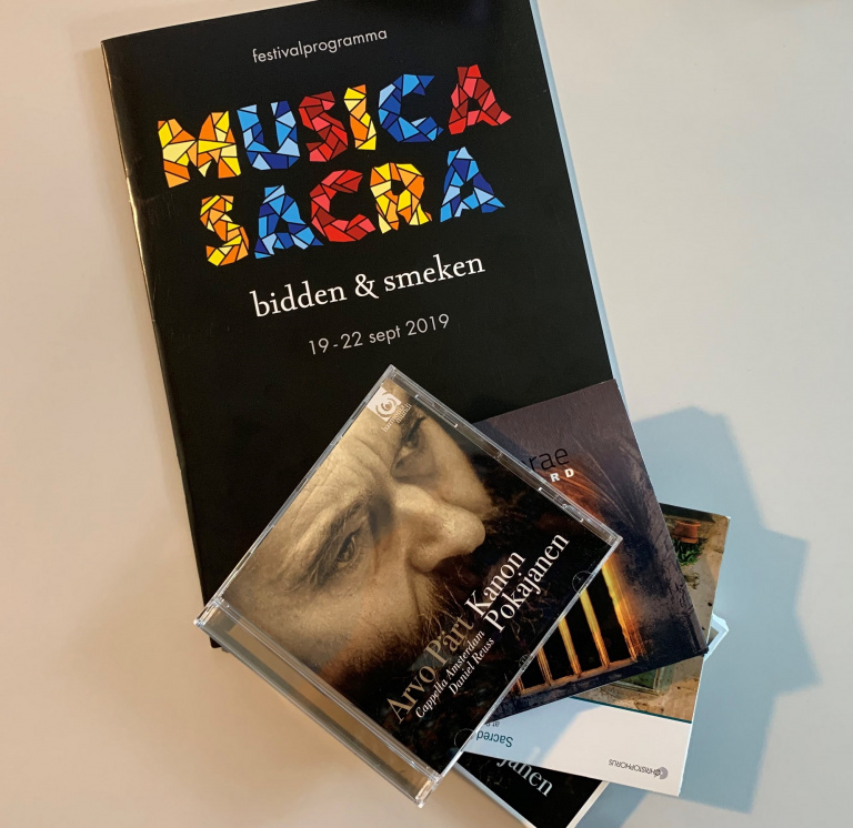 Boekhandel Dominicanen aanwezig tijdens Musica Sacra